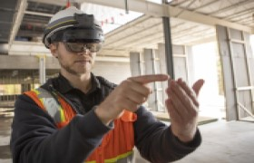 まるでSF映画の世界!? VRやARを超えたMR技術で建築業界を技術革新(ニコン・トリンブル 春岡裕史 山元環)/10代のみんなへ伝えたい、空間づくりの仕事 Vol.3